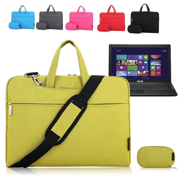 For ASUS D550MAV/D550CA/K550CA 15.6 Notebook Laptop Shoulder Bag Soft Pouch Zipper Sleeve Protective Case Briefcase Messenger<br><br>Aliexpress