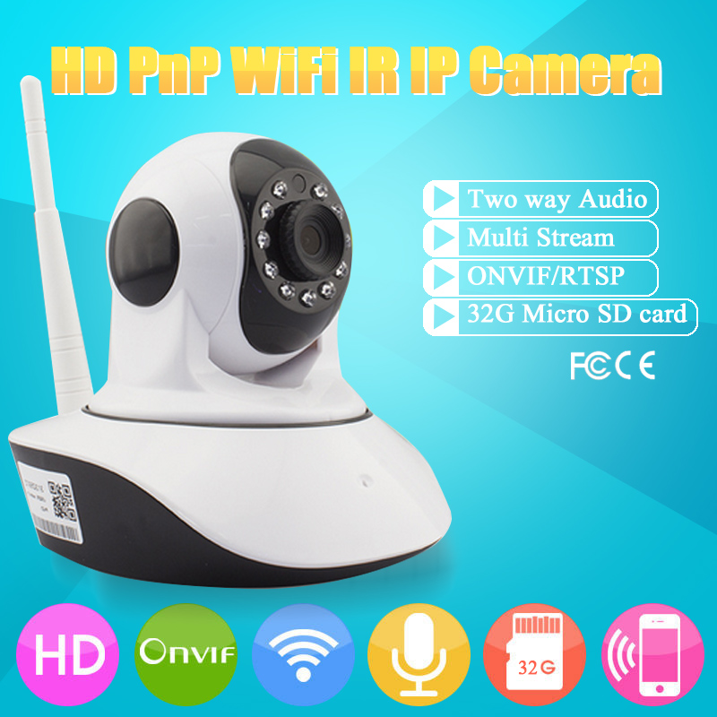 Wireless Baby Monitor Ip Camera Wifi Baby Monitor with Motion Detection Intercom HD 720p Live Baby Electronic Monitor nanny cams<br>