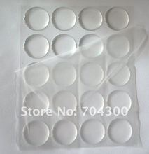 500 pcs 3D DOME CIRCLE 1 inch round clear epoxy sticker for DIY Bottle cap sticker Self Adhesive Resin Dots stickers(China)