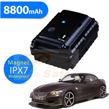 GPS tracker For Car GSM Alarm Vibration Sensor Magent Free Install Voice Monitor 8800mAh Big Battery Powered