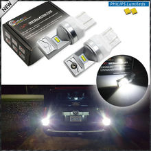 2pcs 6000K Powered By Philips Luxen LED 7440 7443 T20 LED Bulbs For Turn Signal Lights, Daytime Running Lights, Reverse Lights(China)