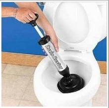 HAND POWER DRAIN BUSTER CLEANER TOILET PLUNGER TOOL(China)