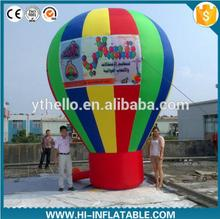 Cold air blown inflatable balloon for business advertising