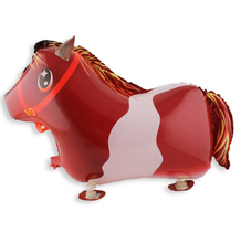Horse balloon walking balloons animals inflatable air ballon for party supplies  kids classic toy 64*43cm