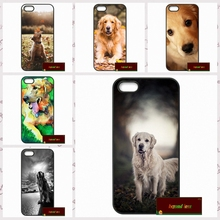 Golden Retriever Dog Pet Cover case for iphone 4 4s 5 5s 5c 6 6s plus samsung galaxy S3 S4 mini S5 S6 Note 2 3 4  DE0102