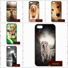 Golden Retriever Dog Pet Cover case for iphone 4 4s 5 5s 5c 6 6s plus samsung galaxy S3 S4 mini S5 S6 Note 2 3 4  DE0102