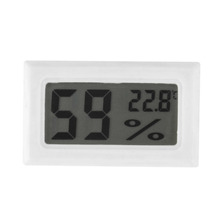 Mini Digital LCD Indoor Convenient Temperature Sensor Humidity Meter Thermometer Hygrometer Gauge New Arrival Worldwide Store