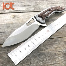 LDT 5470 Folding Knife 7Cr18Mov Blade Steel G10 Handle IKBS Tactical Knives Utility Survival Pocket Knife Hunting EDC Tools(China)