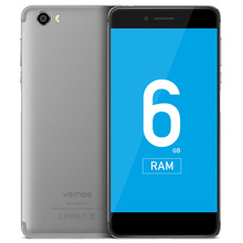 Vernee Mars Pro 4G Android 7.0 5.5 Inch Smartphone Helio P25 Octa Core 2.5GHz 6GB RAM 64GB ROM Fingerprint Sensor 5.0MP + 13.0MP(China)