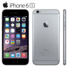 100% Original iPhone 6S Unlocked 4.7``Dual Core 2GB RAM 16/64/128GB ROM 12.0MP Camera LTE IOS IPS Touch ID Used Mobile Phone