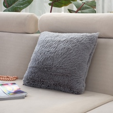 Wholesale PP Cotton Cushion Cover Solid Color Soft Feeling Customized  Sofa Decor Case