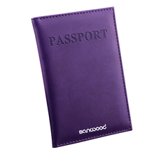 Travel Passport ID Card Cover Holder Case Faux Leather Protect Skin Organizer