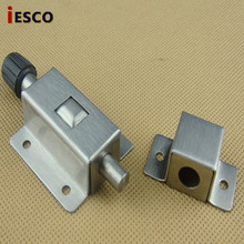 Stainless steel door latch spring bolt anti-theft door latch bolt automatic door latch