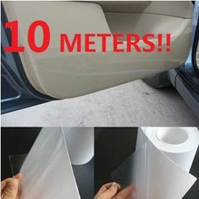 10Meter! Rhino Skin Car Bumper Hood Paint Protect Sticker Protective Film Vinyl Clear Transparent 3 Size