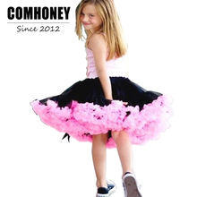 Girls Tutu Skirt for Kids Candy Color 1-12T Infant Children Tulle Skirts Bebe Girl Dance Wear Baby Ballet Petticoat Clothes