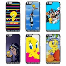 looney tunes Tweety Bird Cover Case for Samsung A3 A5 A7 2015 2016 2017 Sony Z1 Z2 Z3 Z5 Compact X XA XZ Performance(China)