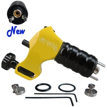 Professional Tattoo Machine Stigma V4 Prodigy Rotary Tattoo Guns Yellow Color Wholease Price For Tattoo Supply Free Shipping