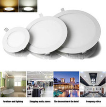 Dimmable LED Downlight 3W 4W 6W 9W 12W 15W 25W Recessed LED Ceiling Panel Light