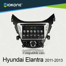 IOKONE Android 4.4 Car DVD Player Hyundai Elantra 2011 2012 2013 GPS,Ipod,WIFI,Radio,vedio, 3G,Bluetooth,Touch Screen