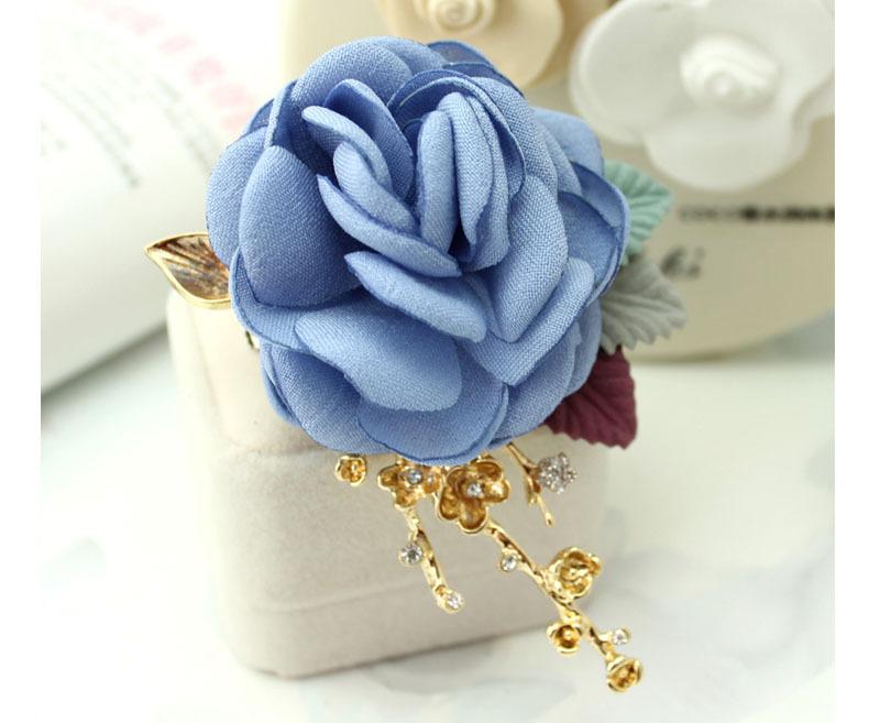 POLYMER CLAY flowers brooch ~ Camomile brooch ~ Stylish design flowers ~ Brooch on dress  ~ Brooch for office ~ Modern style brooch