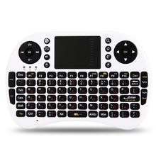 Original M2S High Quality 2.4GHz Wireless QWERTY Keyboard Touchpad With Receiver For HTPC PS3 Xbox360 RUSSIAN OR ENGLISH VERSION