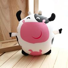 2016 Cow plush toy doll, cartoon foam particles containing active charcoal bag in addition to smell Arai car gift