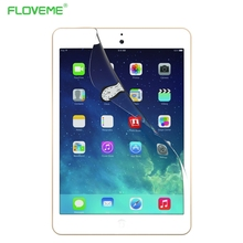FLOVEME 2pcs/lot For Apple iPad 6 Air 2 Clear Soft Screen Protector Front LCD Screen Guard Protective Film For iPad Air 2