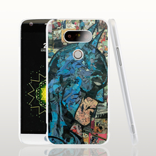 16848 Retro Vintage Batman Comic Book cell phone case cover for LG G5 G4 G3 K10 K7 Spirit magna