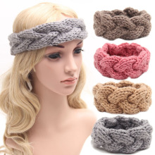 Wholesale Knitted Headband Knit Hair Band Turban Headband Knitted Ear Warmer Women's Winter Headband Crochet Headband Pattern