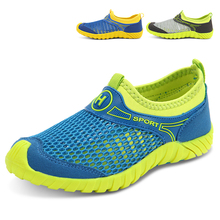 Hot 2017 New  Boys Mesh Sneakers Summer Kids Shoes Slip On Walking Shoes Breathable Children Trainers Cheap Sport Shoes Kd