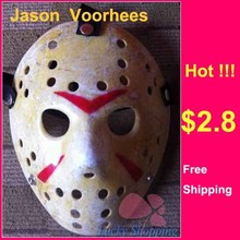 Black Friday Jason Voorhees Freddy hockey Festival Party Full Face Mask With Holes 100gram PVC For Halloween Masks 100pcs/lot