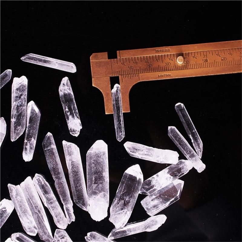 Jewelry & Accessories 50g Natural Crystal Column Clear Quartz Raw Mineral Original Mine Natural Treat Crystal Points Terminated Wand Specimen Druzy