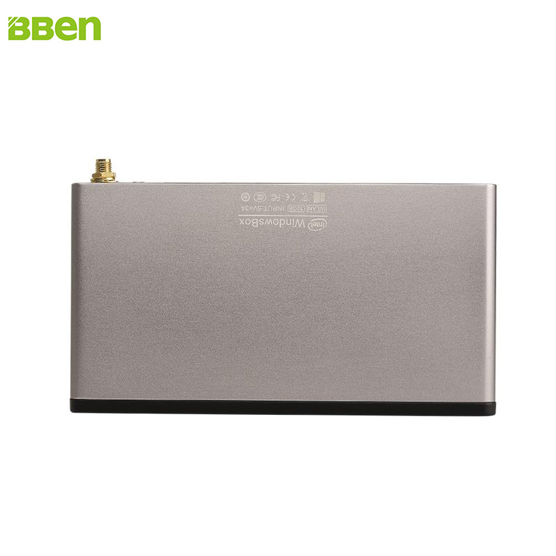 BBen Mini PC Windows 10 License or No Z8300 DDR3 2G eMMC 32G Mini PC Stick USB3.0 HDMI TF Slot 1.44-1.84GHz 3000mAh Battery Grey<br><br>Aliexpress