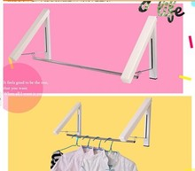 Hidden Type Multifunctional Clothes Hanger  Multifunctional fashion wall hangers folding drying rack coat rack