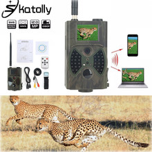 940NM Scouting Hunting Camera Trap HC300M New HD 1080P GPRS MMS Digital Infrared Trail Camera GSM 2.0' LCD IR Hunter Camcorder