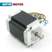 2 Phase NEMA23 CNC stepper motor 76mm 3A 270oz-in CNC stepper motor stepping motor 3D Printer Robot Foam Plastic Metal