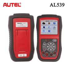 Original Autel AutoLink AL539 OBDII/CAN Scanner Multilingual Menu AutoLink 539 Electrical Test Tool Internet Update Autel AL 539