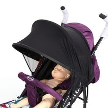 UV UVB Sun Rays Cover Baby Strollers Sunshade Maker for Kid Pram Buggy Pushchair and Car Seats