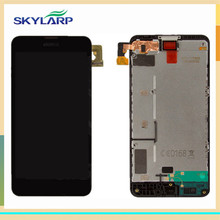 Original LCD screen Module With Touch Screen for Nokia Lumia 630 635 Replacement with Front Housing