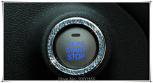 Ho Car Engine Start Stop Ignition Ring Car Sticker For Ford/Focus/Mondeo/Sharp Boundary/Success/Carnival/Taurus/Ecosport/Mustang