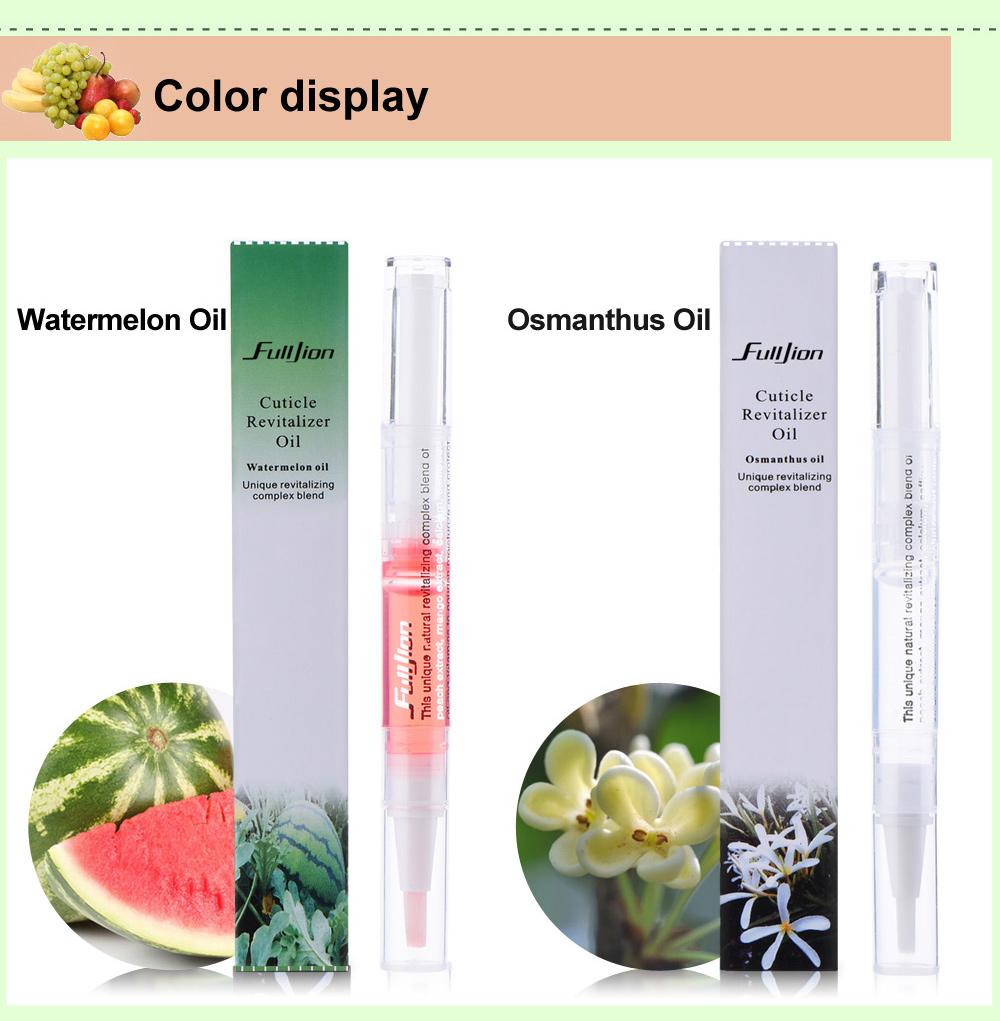 1pc Cuticle Revitalizer Oil Nail Art Treatment Manicure Soften Pen Tool Nail cuticle Oil pen Cuticle Oil Prevent Agnail Fulljion 11