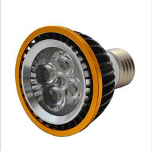 PAR20 Led Lamp E27 4X3W 12W 5x3W 15W Spotlight Led Light Bulb lamp 85V-265V CE ROHS send by DHL/FEDEX