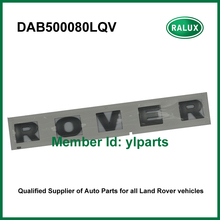 Free shipping DAB500080LQV front car name plate for LR Discovery 3 / 4 2010- auto letter sticker spare parts factory retailer