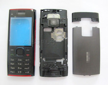 Genuine New Battery Cover Screen Lens Keypad Full Housing Case for Nokia X2-00 mobile phone housing