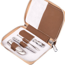 MR.GREEN manicure Set PortableNailCutter Stainless steel Nail Art Nail CareTools with Mini Finger Clipper File Scissor Tweezers(China)