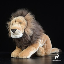 Cute Big Toys African Lions Doll  Simulated Lion Plush Animals Children'S Toy Pillow Gift