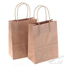150*80*210mm/Hot/Festival Gift Bags/Paper Bag With Handles/Kraft Paper Gift Bag (Set Of 12)