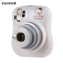 Fujifilm Instax Mini 25 Hello Kitty Instant Camera Built-in Selfie Mirror Flash Film Camera Dual Shutters Auto Pop-up Lens(China)