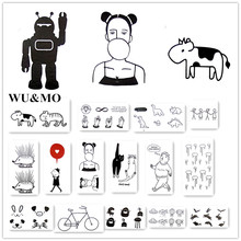 10.5x6cm waterproof temporary tattoo Funny Cute tatoo henna fake flash tattoo stickers Taty tatto tattoos tatuajes