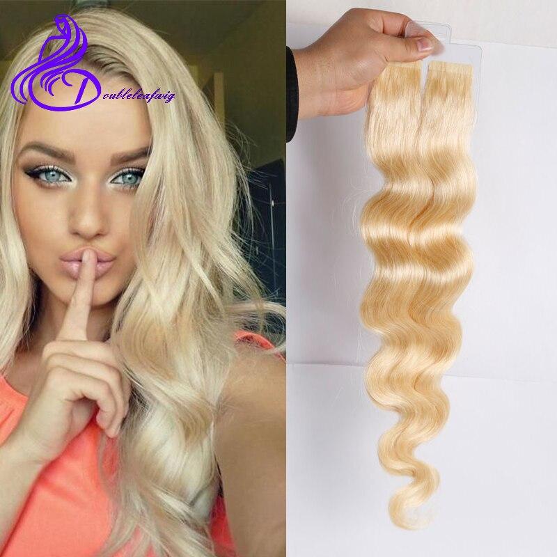Tape Hair Extensions Brazilian Virgin Human Hair Extensions Body Wave Skin Weft Tape In Hair Extensions For Women<br><br>Aliexpress